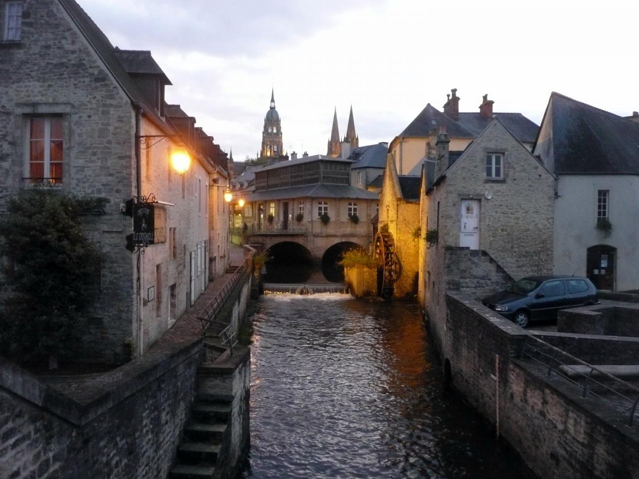 L'Aure, à Bayeux