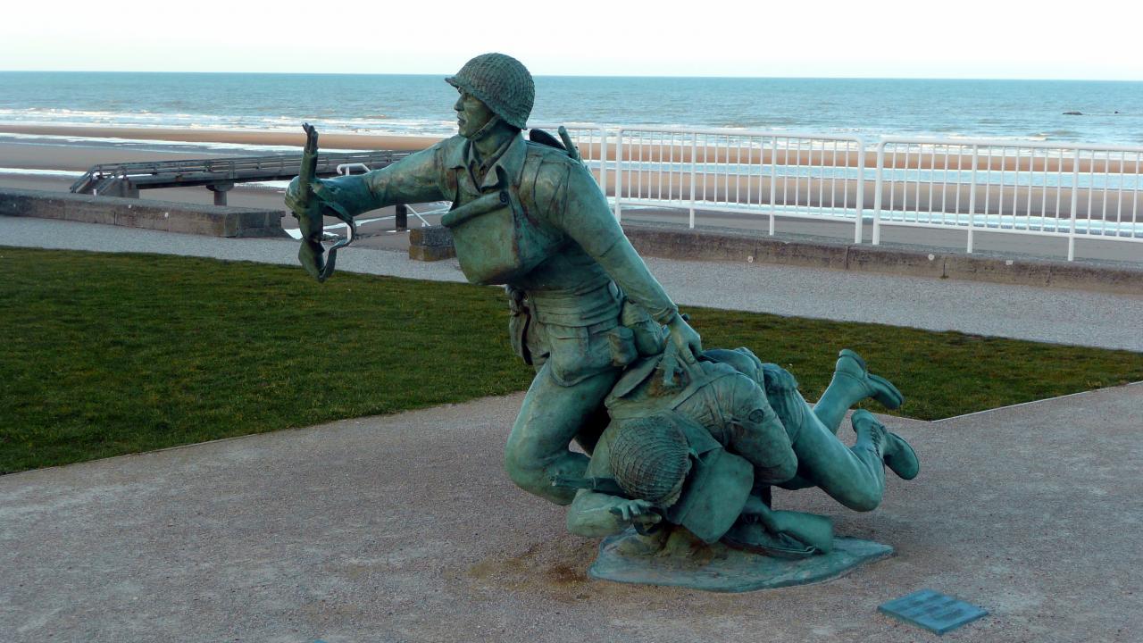 Sculpture, Vierville sur mer